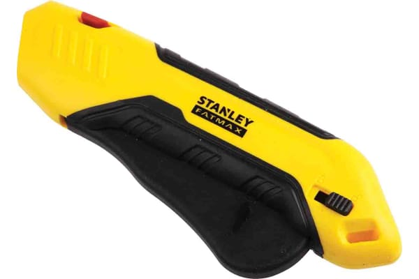 Product image for Stanley FatMax Retractable Automatic Safety Knife with Straight Blade