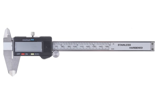 Product image for RS PRO Metric & Imperial Electronic Caliper, Mechanical Micrometer Measuring Set