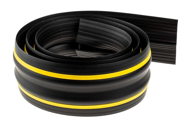 Product image for Medium Duty Black & Yellow Floor Cable C
