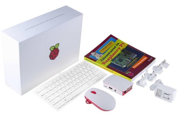 Product image for Raspberry Pi 3 B Official Starter Kit