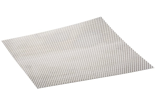 Product image for Perforated 304 s/steel sheet,6.4mm dia