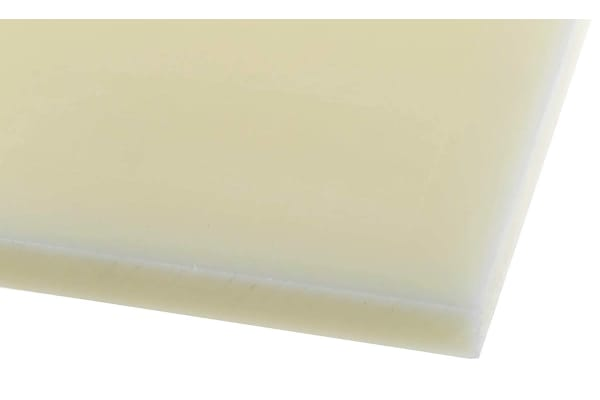 Product image for Cast nylon 6 sheet stock,500x500x10mm
