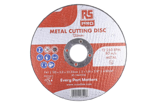 Product image for 115MM X 3.0MM X 22MM METAL CUTTING DISC