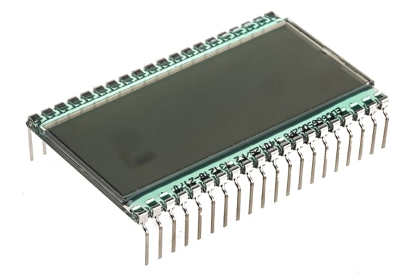 Product image for Transflective 4-1/2 digit LCD, 5950PHT