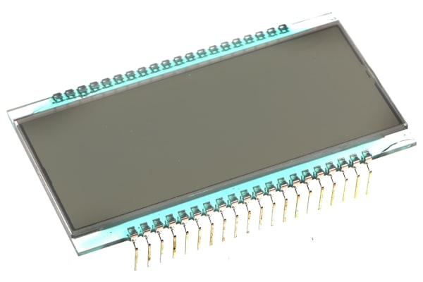 Product image for Transflective 4-digit LCD, 5057PHT