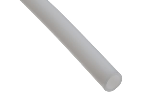 Product image for RS PRO Polytetrafluoroethylene (PTFE) Flexible Tube, Natural, 6mm External Diameter, 50m Long
