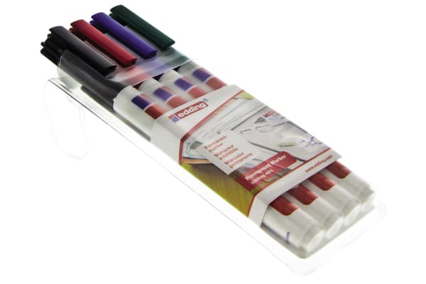 Product image for MIXED COLOURS PERMANENT MARKER PEN