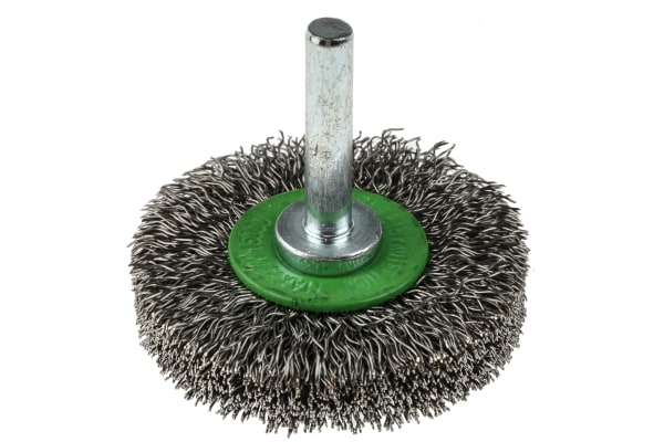 Product image for RS PRO Stainless Steel Circular Abrasive Brush, 50mm Diameter
