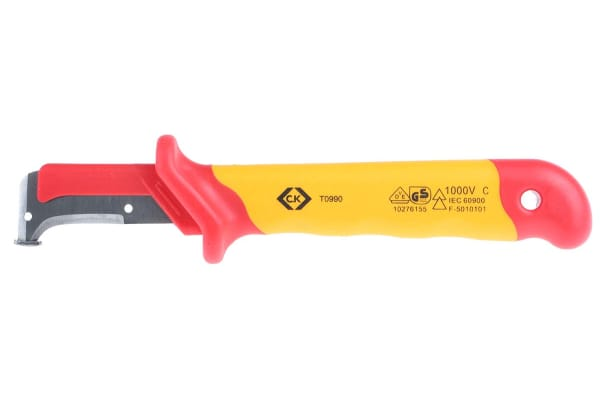 Product image for C.K VDE CABLE SHEATH STRIPPING KNIFE