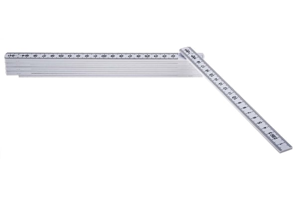Product image for RS PRO 2m Plastic Metric Ruler