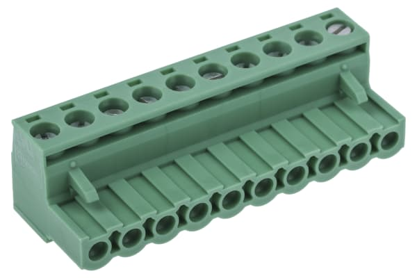Product image for 10WAY PARALLEL RISING CLAMP,5.08MM PITCH