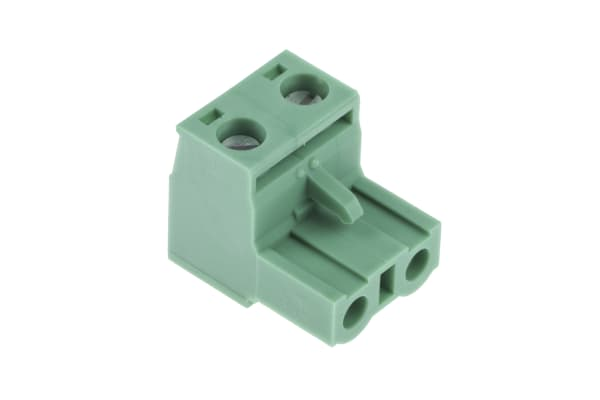 Product image for 2 WAY CABLE MOUNT SCREW TERMINAL,7.62MM