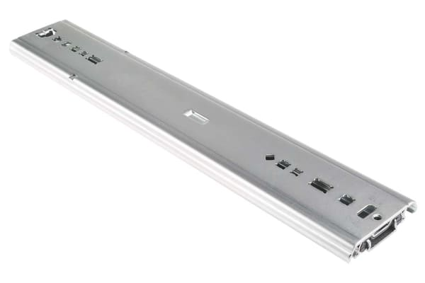 Product image for Accuride Steel Drawer Runner, 406.4mm Closed Length, 150kg Load