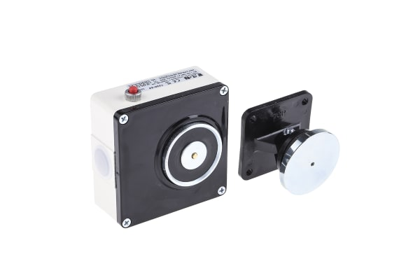 Product image for Fulleon Access Control Door Magnet, 390N Holding Force 24V dc