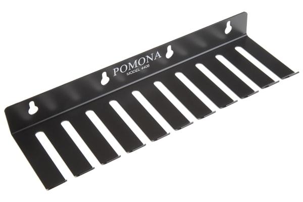 Product image for Black standard test lead rack,10 slots