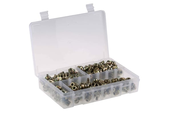 Product image for Grease nipple kit,1/4in BSP thread
