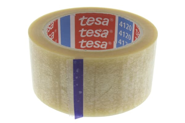 Product image for CLEAR PVC CARTON SEALING TAPE,50MMX66M