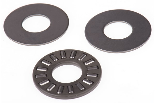 Product image for AXIAL NEEDLE ROLLER BEARING,10MM ID