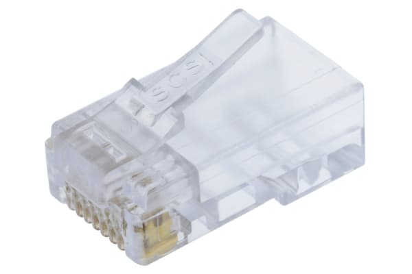Product image for Bel-Stewart, Male Cat5 RJ45 Connector