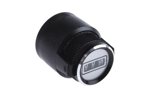 Product image for 10 turn digital circular dial,30.6mm dia