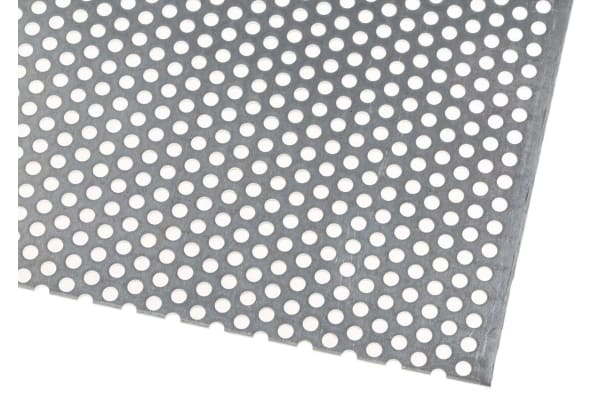 Product image for Perforated Al sheet,3mm dia 0.5x0.5m