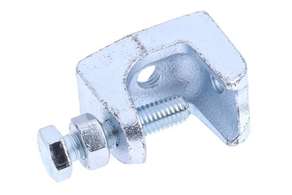 Product image for Flange fixing cast iron beam clamp,M8