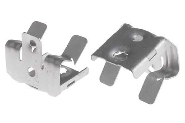 Product image for Switch gear/box clip,14-20mm W 7mm hole