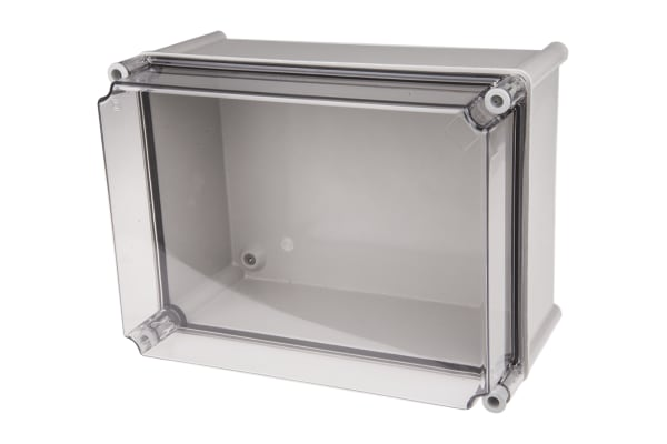 Product image for CAHORS GRP Combiester, Grey Fibreglass Enclosure, IP66, 360 x 270 x 201mm