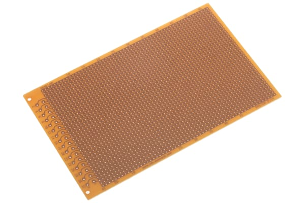 Product image for 1 SIDED DIN STRIPBOARD SRBP,160X100MM