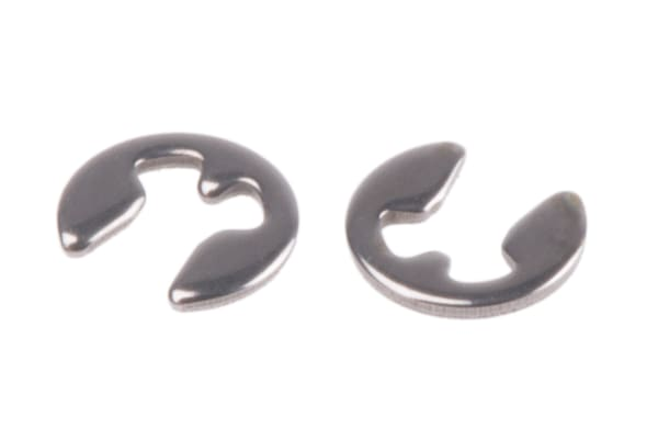 Product image for E type s/steel circlip,1.5mm groove