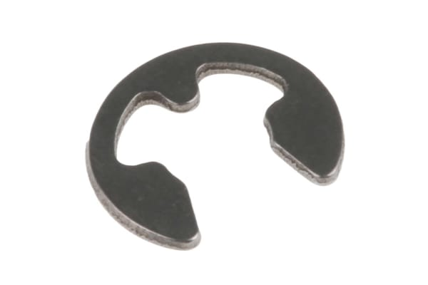 Product image for E type s/steel circlip,4.0mm groove