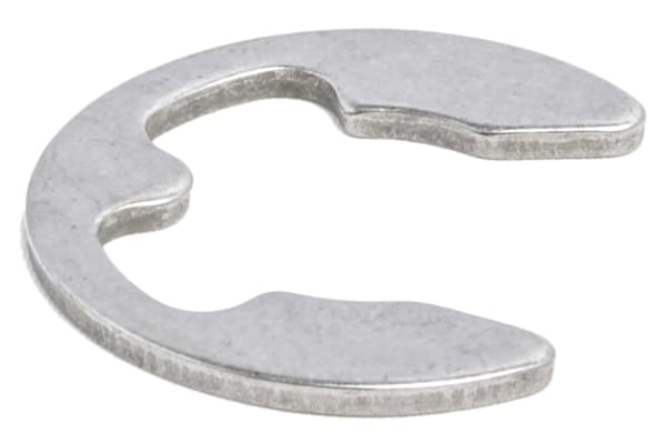 Product image for E type s/steel circlip,12.0mm groove