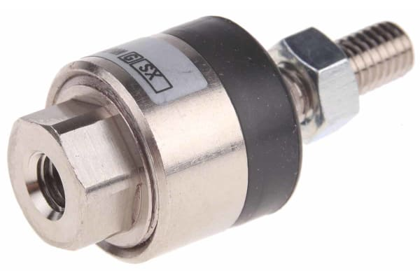 Product image for Floating joint pneumatic gripper,M5x0.8