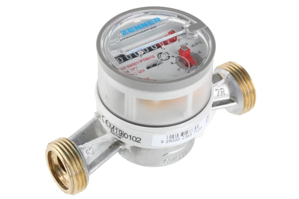 Product image for Reliance Class A 2.5m³/h Single-Jet Water Meter 3/4 in BSP Male