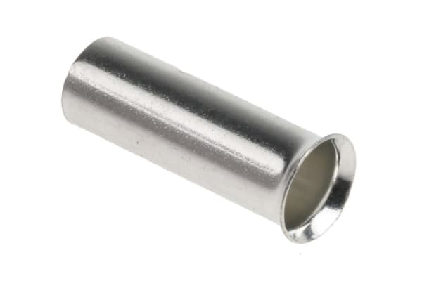 Product image for Uninsulated bootlace ferrule,6sq.mm wire