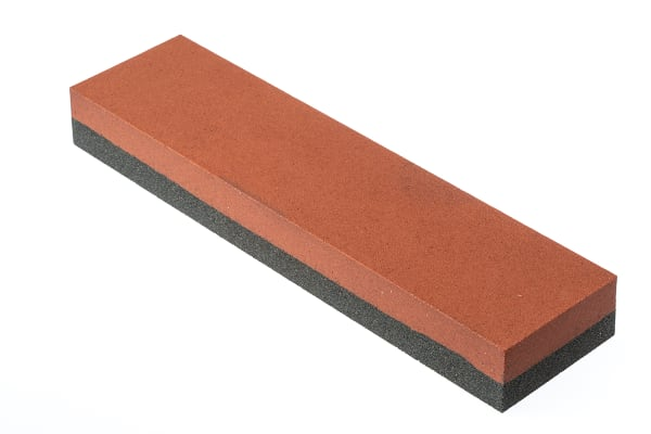 Product image for Norton Coarse/Fine Rectangular Sharpening Stone, 8in x 2in x 1in