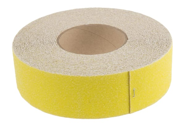 Product image for Rocol SAFE STEP® Yellow High Visibility Tape 50mm x 18.25m