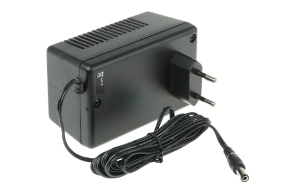 Product image for MAINS ADAPTER,PLUG-IN,ACDC,416MA,24VDC
