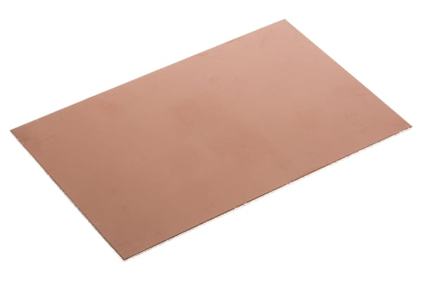 Product image for COPPER PCB, FR4, 2 SIDED, 160X100X1.6MM