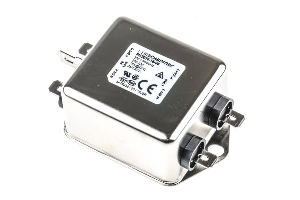 Product image for 1PHASE LOW COST CHASSIS MOUNT FILTER,16A