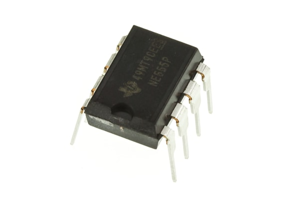 Product image for PRECISION TIMER,NE555P 0.5MHZ DIL8