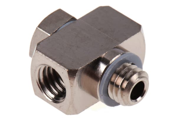 Product image for PNEUMATIC M5 MINIATURE DOUBLE ADAPTER