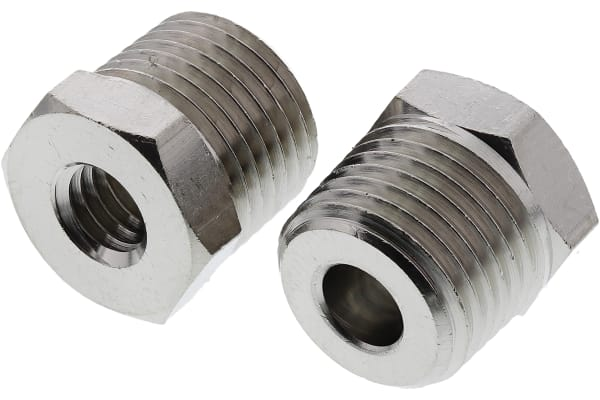 Product image for M5 miniature reducing bush fitting