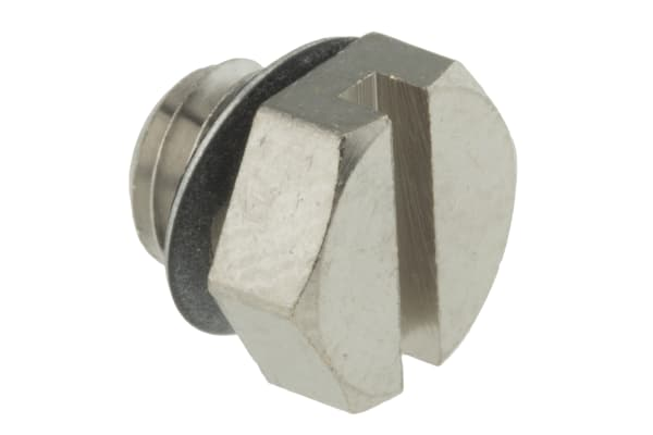 Product image for Pneumatic M5 miniature plug fitting