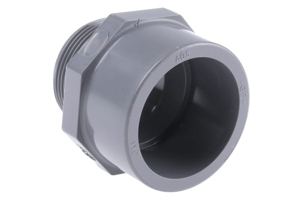 Product image for ABS ADAPTOR,1 1/2IN BUSH SOCKET-M SPIGOT