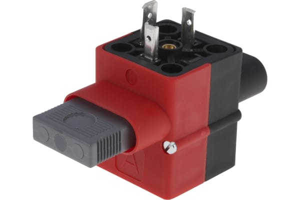 Product image for Hirschmann DIN 43650 A, Female, Male Solenoid Valve Connector