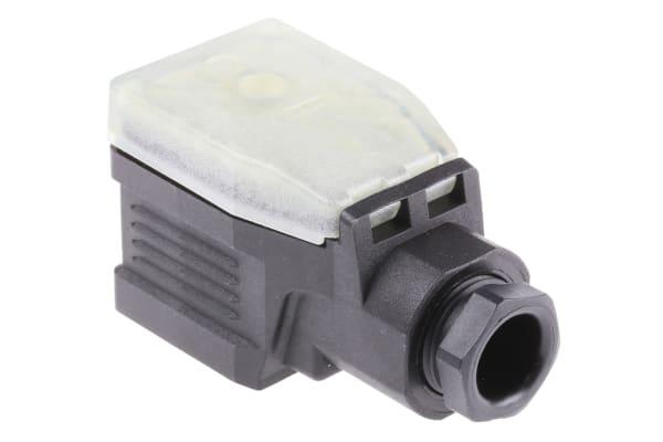 Product image for GDME 2P+E BLACK HOUSED SOCKET 250V