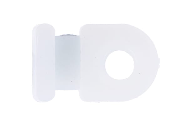 Product image for Screw Fix Cable Tie Base, 2.6mm