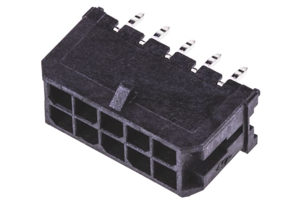 Product image for 10 way 2 row vertical header,3mm pitch