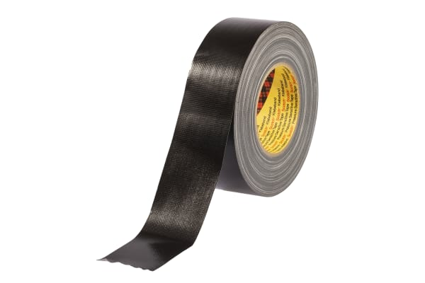 Product image for Cloth Tape, Black, 50mm